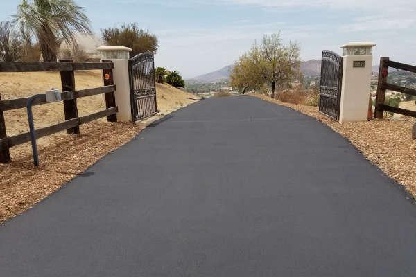 New Driveway paving
