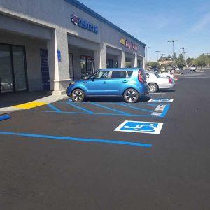Parking Lot striping Rancho Cucamonga